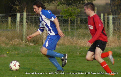 Cliffe FC 2ndXI vs. Strensall Reserves 20Apr11