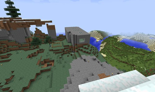 View of our 2nd Generation Minecraft Hou by Wesley Fryer, on Flickr
