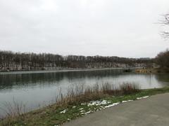 Loon Lake in the park (debstromquist) Tags: loonlake lakes stateparks fishingareas winter snow manmadelakes firstvisits silversprings silverspringsstatefishwildlifearea yorkville il illinois