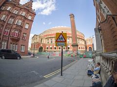 The Royal Albert Hall (James E. Petts) Tags: alberthall chelsea fisheye london