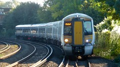 375811 and 375 number 822 Hastings to Charing Cross (train_photos) Tags: 375811 hastings charingcross electrostar southeastern diversion