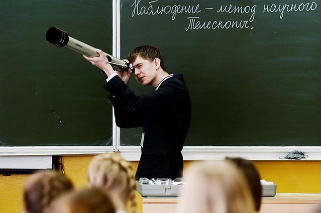 В русские школы возвратят уроки астрономии
