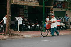 (. Daniel Pham .) Tags: danielpham saigon vietnam polaroid film vsco vscofilm nikon people human street streetlife streetography streetphotography colorful colors documentary travel traveler traveling vehicle bicycle culture food filmisnotdead filmphotography fineart contemporary vietnamese mediumformat 35mm journal diary asia southeastasia