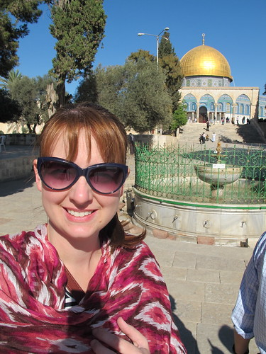 Me and the Dome of the Rock