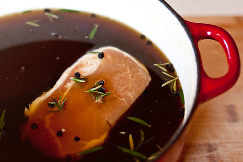 Spiced Pork Chops with Agrodolce Sauce