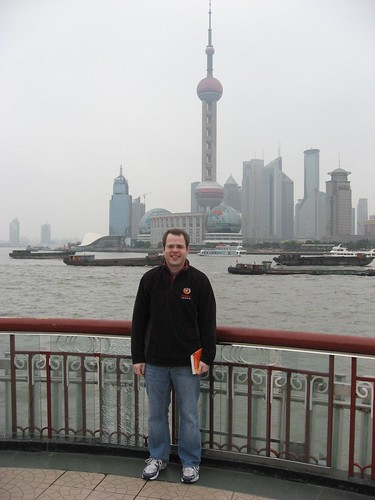 John Lilly in Shanghai