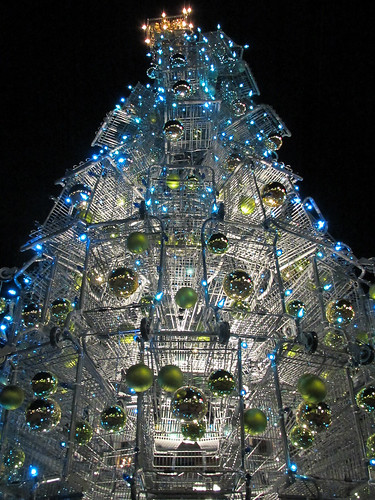 Shopping Cart Xmas Tree