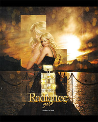 Radiance Gold - Britney Spears (Joshie.yeye) Tags: ocean new bridge sea sun lake sol beach river puente lago atardecer gold lights golden muelle eau elizabeth perfume spears song circus album cd radiance playa amanecer fantasy midnight blonde curious britney hermosa brit montaas 2010 arden radiante