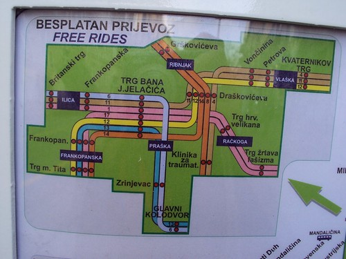 free zagreb tram rides, travelzin
