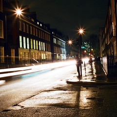 London (Peter Gutierrez) Tags: street uk light england motion streets london english film public night square lights evening noche photo moving movement europe european nocturnal traffic nacht britain pavement united great kingdom move sidewalk peter gutierrez british nuit brit nocturne notte brits europeans petergutierrez