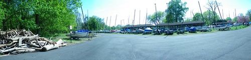 marina lot panorama