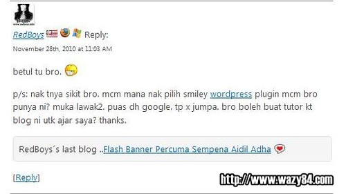 Tutorial Memasang Smiley Themer Di WordPress