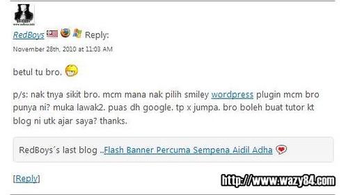 Tutorial Memasang Smiley Themer Di WordPress