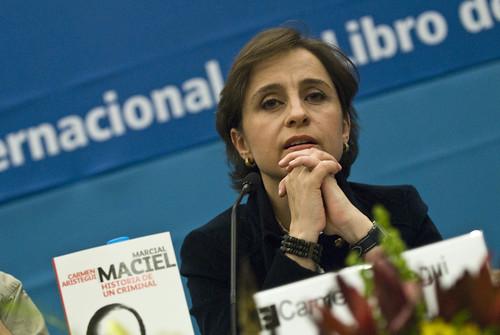 Presentación del libro Maciel de Carmen Aristegui