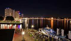 My City Rotterdam (DolliaSH) Tags: city longexposure light urban haven holland color water colors architecture night canon reflections river photography lights noche photo rotterdam europe foto nightshot photos nacht harbour nederland thenetherlands away gone le goodbye maas quit nuit notte stad noch adios zuidholland canonefs1022mmf3545usm thelastone nachtopname manhattanaandemaas canoneos50d dollia dollias sheombar dolliash