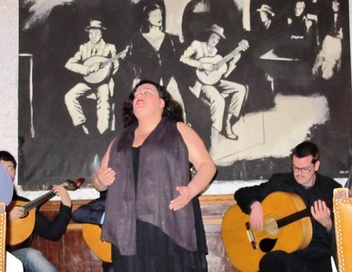 Portuguese Fado music at Luso Cafe in Lisbon #8 by RennyBA