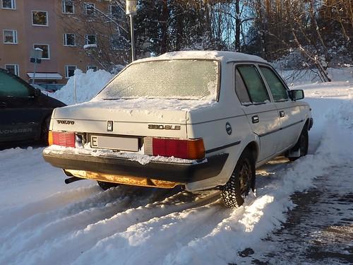 VOLVO 360 GLS 345213 1985 VOLVO 360 GLS 344213 1985 Volvo 360 GLS