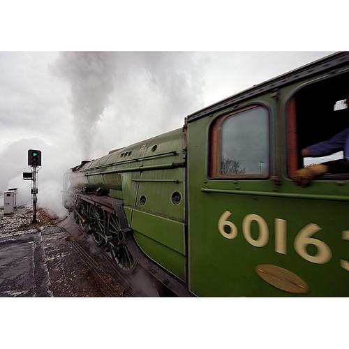 Tornado departs Salisbury