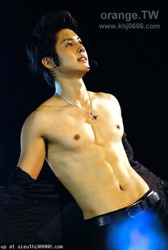 Kim Hyun Joong's Sexy Body