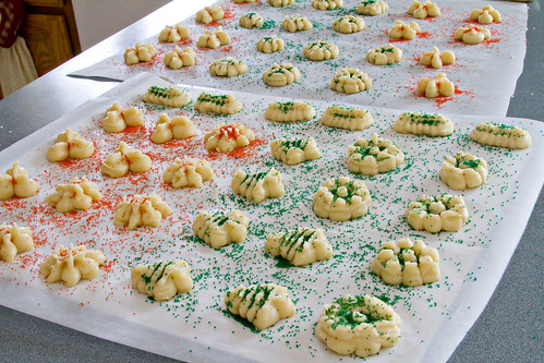 Cream Cheese Spritz Cookies - 4