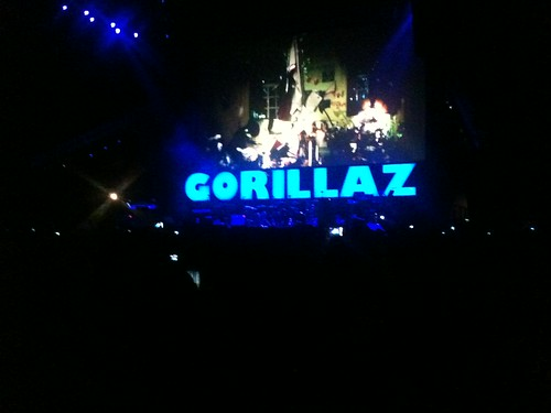Gorillaz melting my face off.