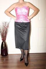 slip (sheerglamour) Tags: stockings fetish mac plastic heels satin cami nylon pvc slips