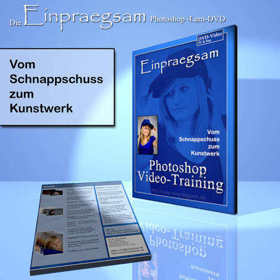 Adobe Photoshop Tutorial-DVD deutsch