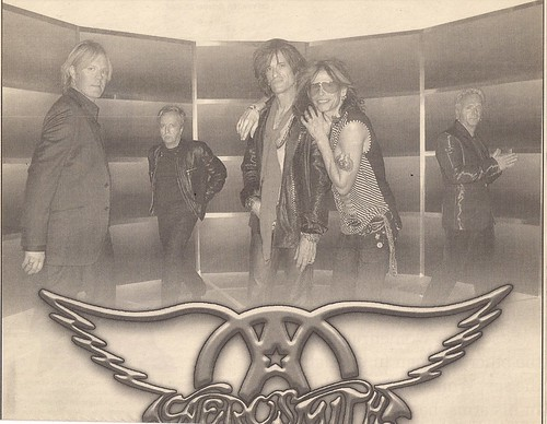 12/10/02 Aerosmith/Andrew W.K. @ Minneapolis, MN (Ad - Top)