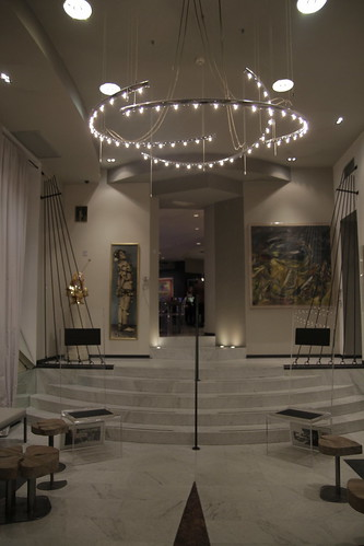 Lobby of Art Hotel Boston