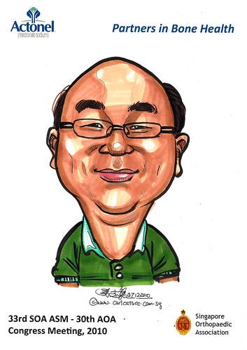 Caricatures for Sanofi-Aventis - 35