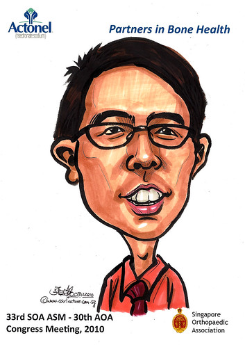 Caricatures for Sanofi-Aventis - 9