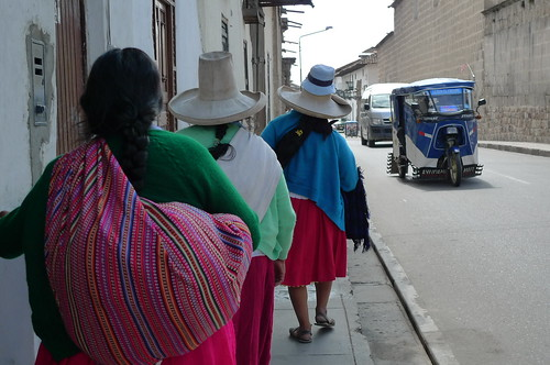 Ladies with Sombreros - Cajamarca, Peru