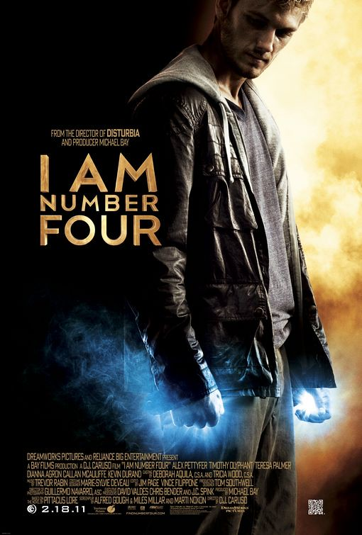 I Am Number Four 2011 Film Poster