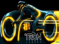 [Poster for Tron: Legacy]