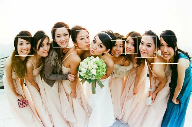 wonder bride inma with bridemaids  face detection edition kit da studio