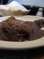 Chicken with Mole Poblano - Mexico City, Mexico