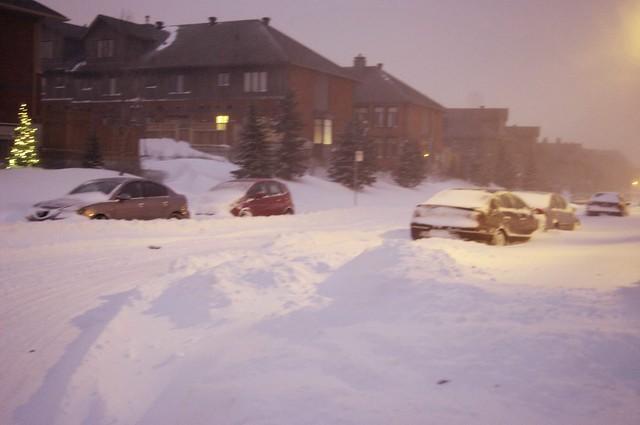 25 cm de neige - 7 décembre 2010