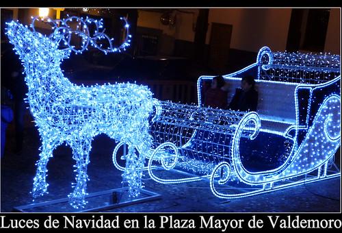 Luces de Navidad en la Plaza de Valdemoro