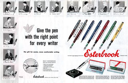Esterbrook Pens ad