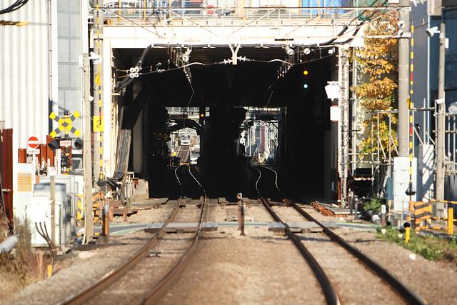 線路と踏切