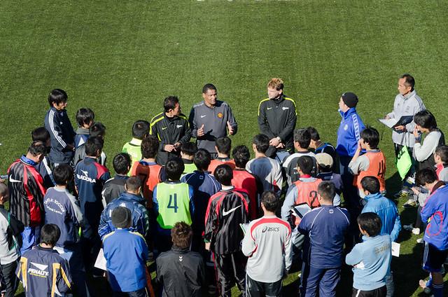 Manchester United Coaching Session Edogawa Daigaku_1274