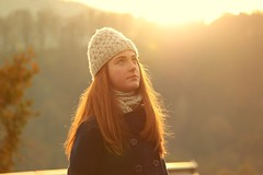(Experiment of the nature) Tags: winter light sun sunlight cold hat eyes friend eider gernika lumo experimentofthenature