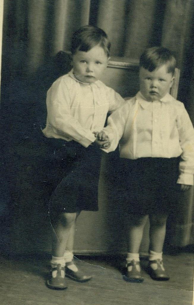 John and Charlie Buddo, 1939