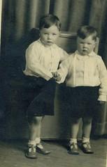 Image titled John and Charlie Buddo, 1939