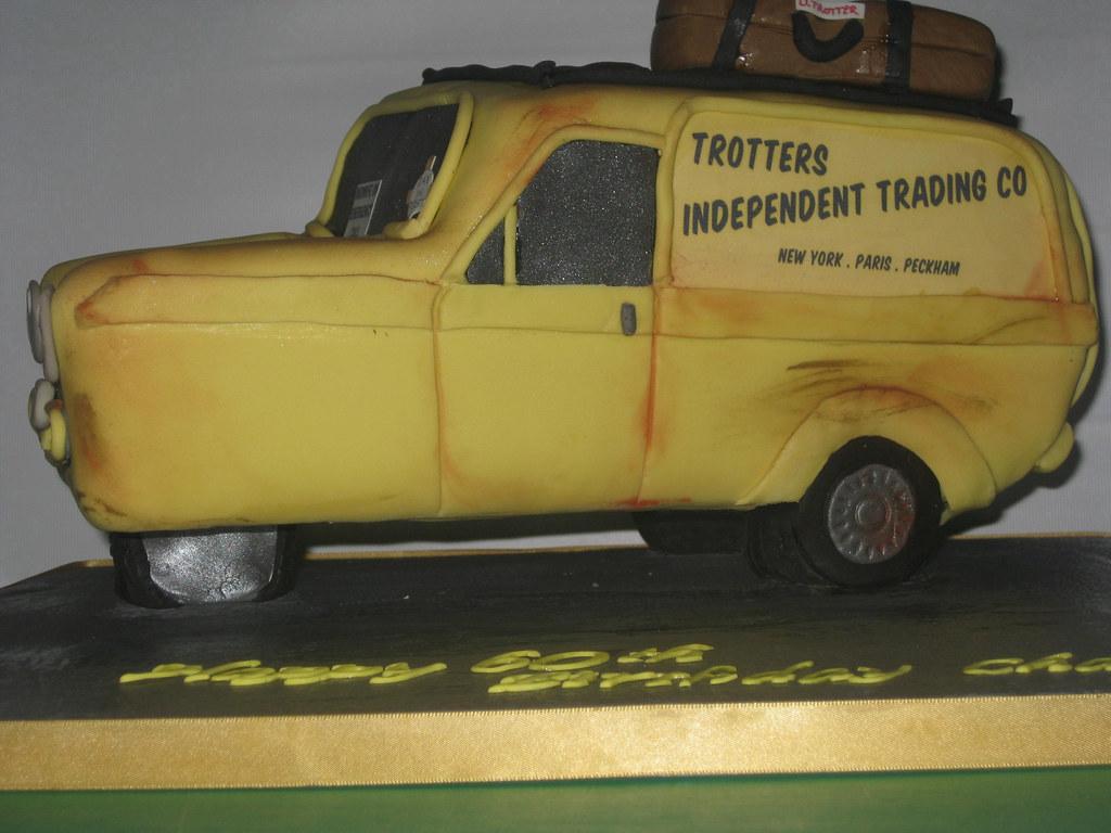 Trotters Van Cake