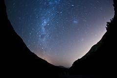Star Trails - Camino Farellones - Chile (Fabro - Max) Tags: chile mountains andes cerros cordillera montañas cordilleradelosandes