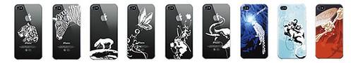 iPhone/iPad/iPodアイテム通販: iPhone4ケース アースウェア絶滅危惧種+パワーサポートAir(エアー)ジャケット EWFP01/EWFP02(earthwear /POWERSUPPORT)
