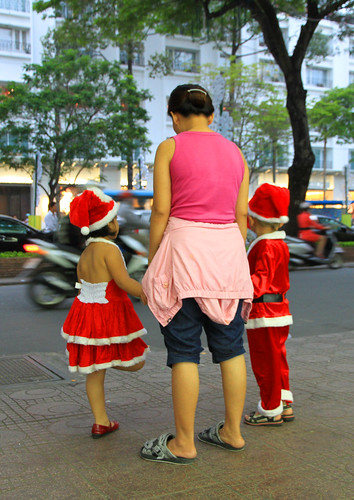 Santas backside