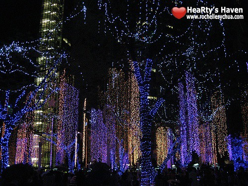 Ayala Triangle Gardens Dancing Lights