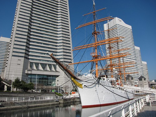 Nippon Maru sail traing ship